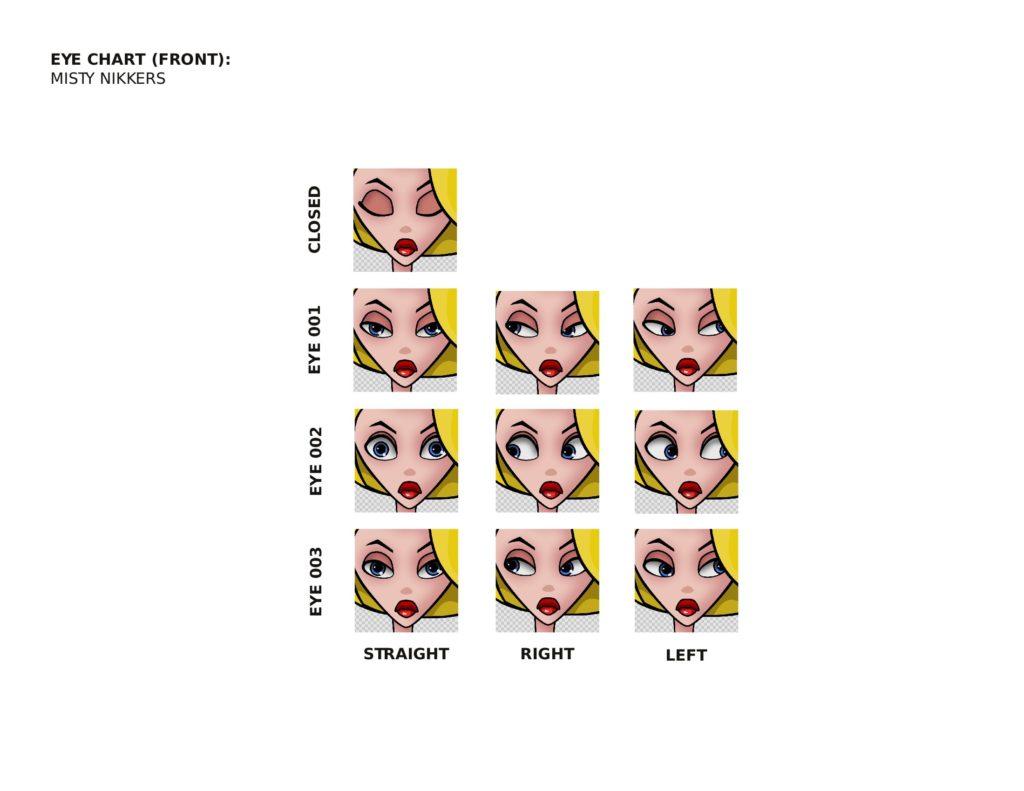Eye Chart for Misty Nikkers