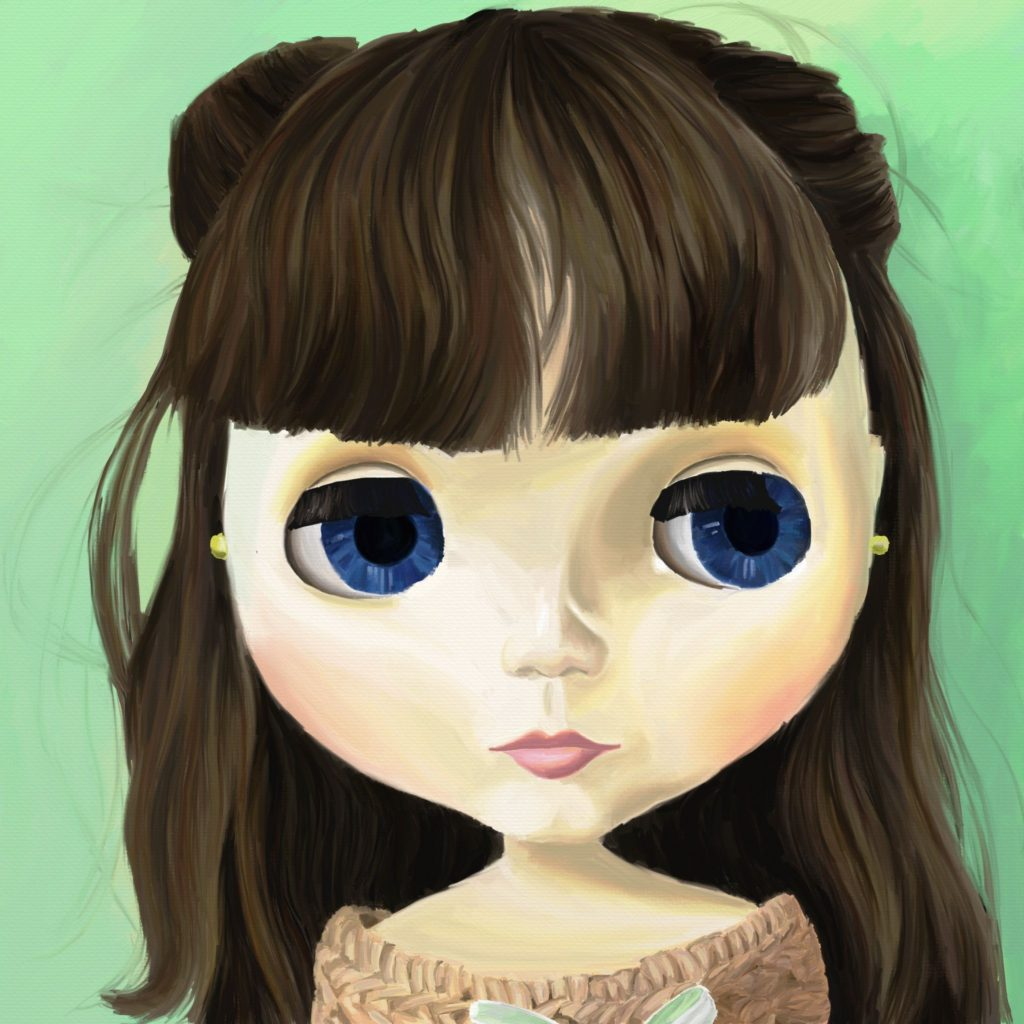 Zooey Painting for OnePinkHippo