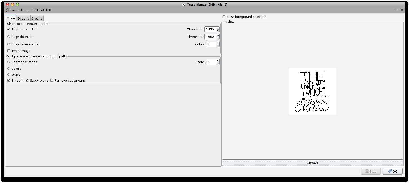 Adobe Illustrator Live Trace Vs  Inkscape Trace Bitmap – THE