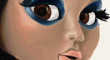 ArtRage+iPad Painting Progress