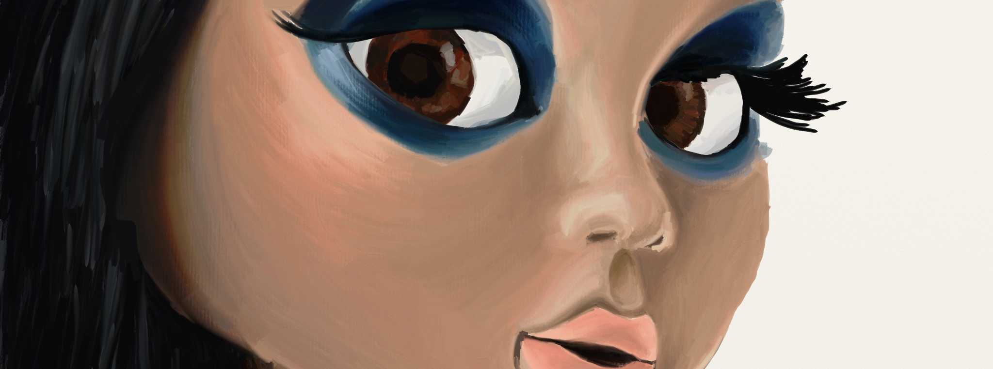 ArtRage+iPad Painting Progress