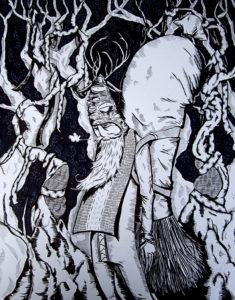 Thomas Frye Original Illustration
