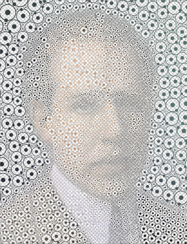 What file looks like with mask on Bohr photograph