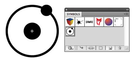 Make the atom a symbol for easier editing.