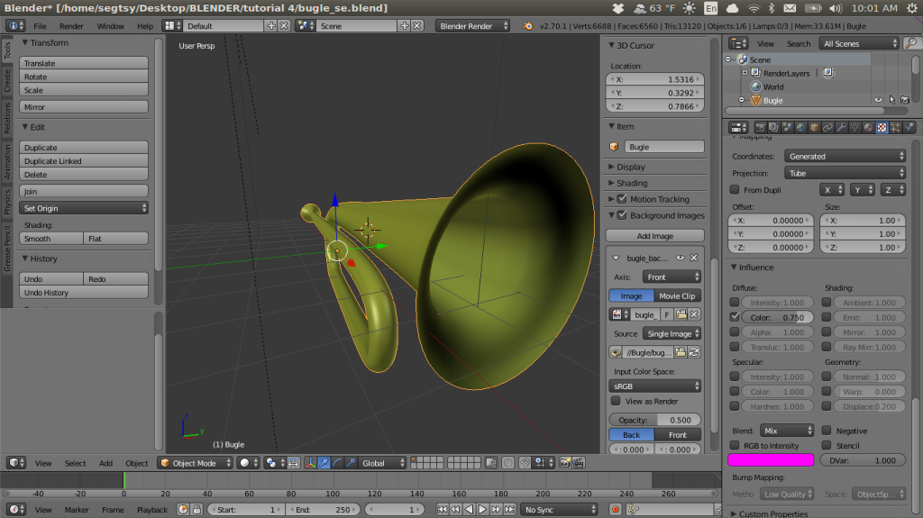 Working with Neal's curriculum has certainly helped demystify Blender