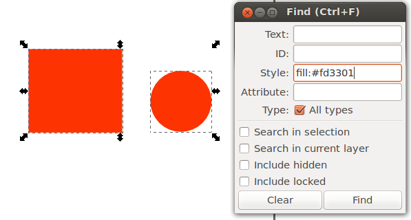 Paste the style you want into the style section in the find dialogue box. That's it!