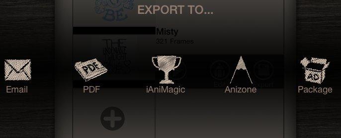 Export to Anizone