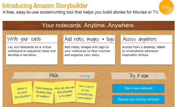 Amazon Storybuilder