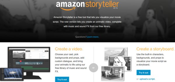 Edit video or create storyboards directly online.