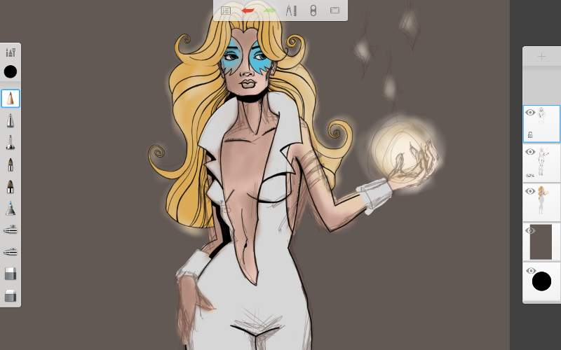 Dazzler was a fun character to use at my muse.