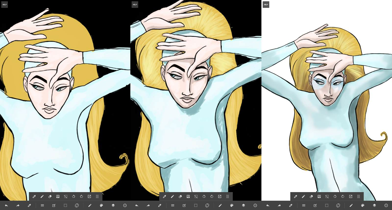 How To Enlarge A Picture On Medibang Paint
