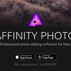 Affinity Photo FREE ten-day trial
